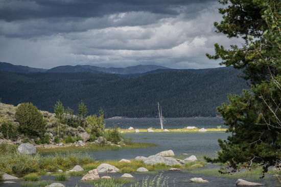 Willow Lake. WInd RIver Mountains, WY. Photo taken Sept. 7, 2014. Copyright Ralph Maughan