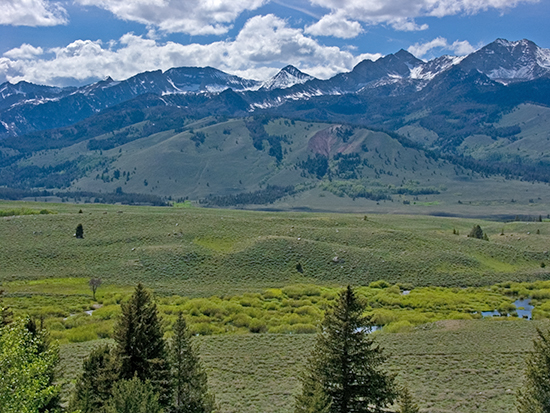 Copper Basin, Idaho. Copyright Ralph Maughan
